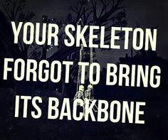 Ghost town Skeleton lyrics