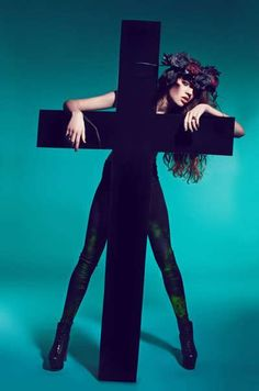 100 Religiously Inspired Fashions - From Religious Fashion Couture to Austere Convent Editorials (TOPLIST)