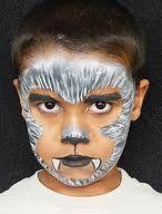 werewolf face painting