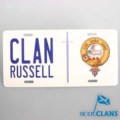 Russell Clan Crest N