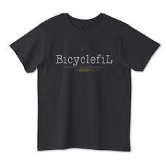 BicyclefiL Clacic Logo | デザインTシャツ通販 T-SHIRTS TRINITY(Tシャツトリニティ)