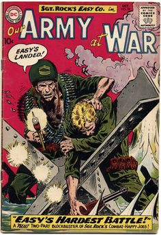 1960 Our Army At War kubert
