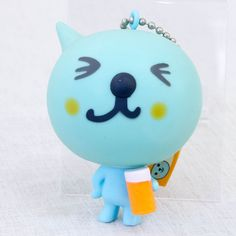 "QOO Mascot Figure Key chain 2.5"" Coca-Cola Japan Limited"