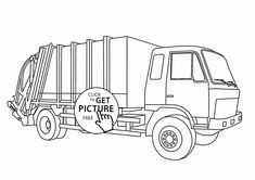 firetruck realistic coloring pages - photo#20