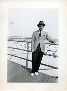 Vintage fashion men   The Johnsons' Mid-Century Time Travel Guide   #vintagefashion #hat