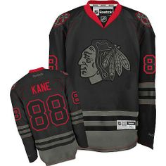 Patrick Kane fan get your best gift (Reebok Chicago Blackhawks 88 Patrick  Kane Premier Black Ice Jersey) for your lover! 79789f59f