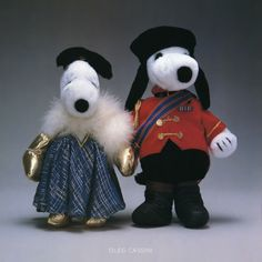 Snoopy and His Sister Belle in Custom Designs