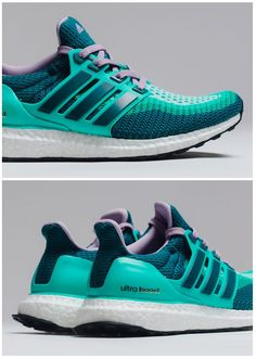 12/17/15 - New kicks! OMG, they are crazy comfortable. #InLove  adidas womans Ultra Boost: Clear Green