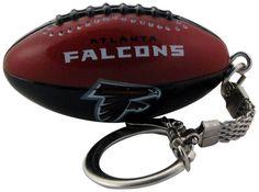 Atlanta Falcons Football Keychain - Sunset Key Chains