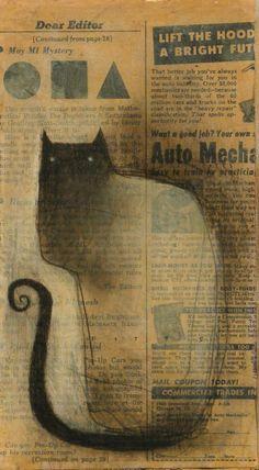 Mystery Cat by SethFitts on DeviantArt