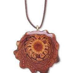 Third Eye Pinecone Natural Necklace