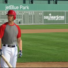 Peedy at the new Jet Blue Park in Ft. Myers, Fl - Spring Training '12