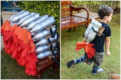Birthday Party Ideas for Kids Costume Ideas and Imaginative Playwear for Kids- Lovelane Designs 3 Year Old Birthday Party Boy, Rocket Birthday Parties, Birthday Themes For Boys, Birthday Party Themes, Astronaut Party, Outer Space Party, Festa Party, Baby Party, Creations