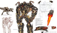 transfomer 4 dinobots in move dinobot grimlock | Fan art based on the movie style TFs. Not my cup of tea, but nice ...