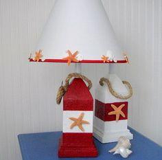 A lamp for the pirate reading area. #PrimroseReadingCorner
