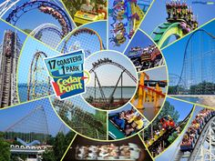 I really wan to go to cedar Point because I love thrill rides like roller coasters and water slides.
