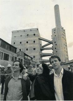 André Vainer, Lina Bo Bardi & Marcelo Ferraz - SESC Pompeia, São Paulo (1986)