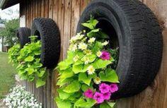 Dù đã mòn nhưng những bánh xe vẫn còn có thể sử dụng vào nhiều mục đích cho nhà bạn. Dưới đây là một số mẹo hay biến lốp xe cũ thành đồ nội thất độc đáo.