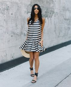 30 Outfits That Will Make Dressing In June Easier (The Edit) 30 Outfits, Summer Dress Outfits, Classy Outfits, Spring Outfits, Fashion Outfits, Beautiful Summer Dresses, Nice Dresses, Preppy Style, Spring Summer Fashion