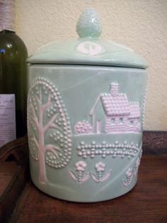 Vintage Ceramic Cookie Jar, etsy.com - $20.00, plus 10 for shipping