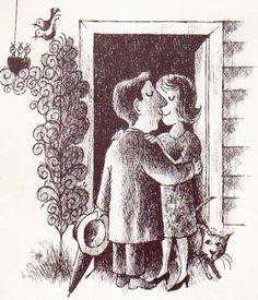 Vintage Kids' Books My Kid Loves: The Quarreling Book illustrated by Arnold Lobel.