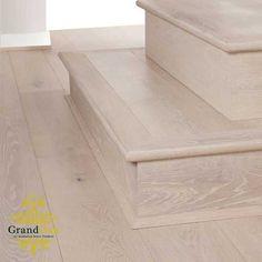 Arctic Oak Stair Nosing