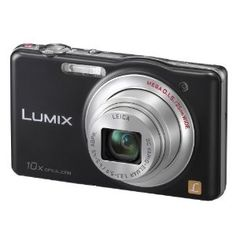 Review Panasonic DMC-SZ1EB-K Black 10x Super Zoom Compact Camera with 25mm LEICA Lens and HD Movie - Panasonic Best Review