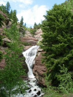 Hayes Creek Falls....Redstone, CO