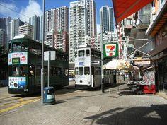 Trams in Happy Valley