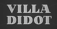 Villa_Didot_Font