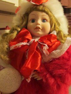 "Vintage TELCO 24"" Animated Illuminated Motionette Christmas doll"