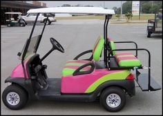 Converted Golf Cart To Extra Long Taxi Great For Girls