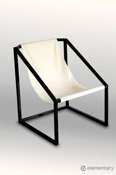 Black frame chair