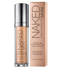 Naked Skin Liquid Makeup - Liquid Foundation  - a little pricey, but I've heard such great reviews, so may consider it.