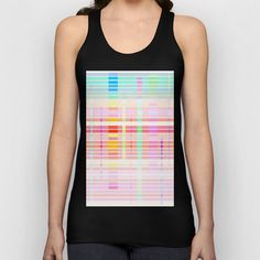 Re-Created Urban Landscape XIII Unisex Tank Top by Robert S. Lee - $22.00