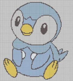 Piplup Pattern by KittyBywaters on DeviantArt