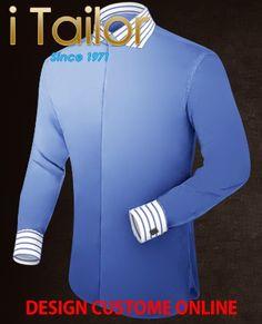 Design Custom Shirt 3D $19.95 heren kostuum Click http://itailor.nl/suit-product/heren-kostuum_it49869-1.html