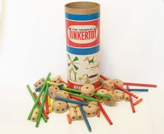 Tinker Toys: I still have these!
