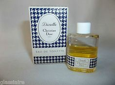 Vintage Dior perfume bottle -- perfect for display on a vanity tray for the feminine room!