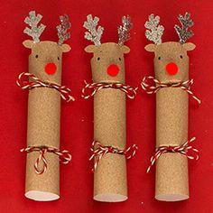 Image result for pinterest reindeer christmas cracker