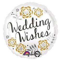 Wedding Congratulations-Pkg foil balloon (Pack of Floral Wedding, Wedding Flowers, Wedding Congratulations, Mylar Balloons, Wedding Balloons, Team Bride, The Balloon, Wedding Wishes, Floral Centerpieces