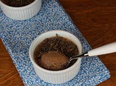 Gluten Free Chocolate Custard! Make it Gluten Free and visit www.absolutelygf.com for more! #desserts #recipes #glutenfree
