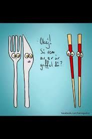So who of you two is the fork? Best Quotes, Funny Quotes, Poetry Art, Fun Illustration, Important Things In Life, I Love To Laugh, Proverbs, Fork, At Least