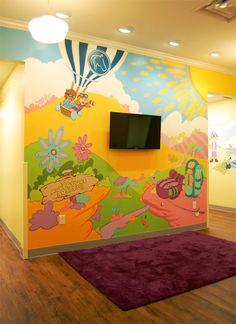 11 best PreSchool Murals images on Pinterest Kid garden