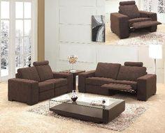 Recliner Fabric Sofa