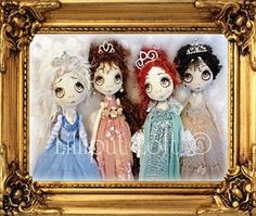 PRINT of Urchin Art Doll The Royals Collection