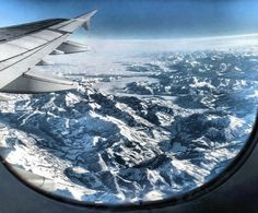 Beautiful. 100 Photos taken from an airplane window.