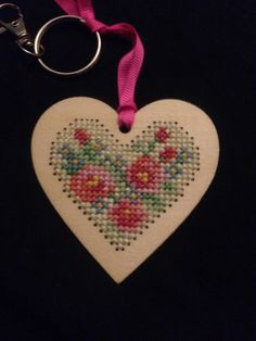 Cross stitch keyring from Cross Stitcher issue 275
