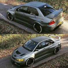 Evo 9 with widebodu