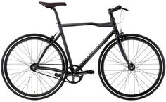 Only The Brave, a single-speed urban bicycle, comes from a collaboration between Diesel and Pinarello. While it's available in two colors, I am partial to the sleek matte black finish on this one.